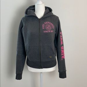 PINK Victoria's Secret Full Zip-Up Hoodie